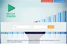 Tablet Preview of adpartner-media.de